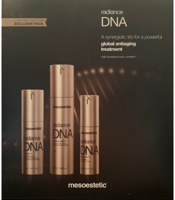Exclusive Pack Radiance DNA Limited Edition Mesoestetic.