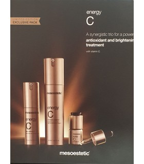 Exclusive Pack Energy C Limited Edition Mesoestetic.