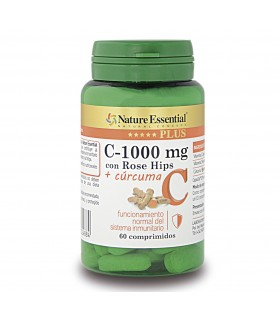 Vitamina C-100 mg con Rose...