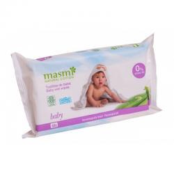 Toallitas humedas para bebe bio 60 uds Masmi - Imagen 1