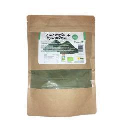 Chlorella + spirulina en polvo bio 200 g Dream Foods - Imagen 1