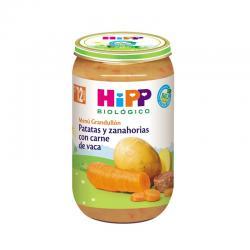 Potito de patatas y zanahoria con carne de vaca Bio +12 M 250g Hipp - Imagen 1