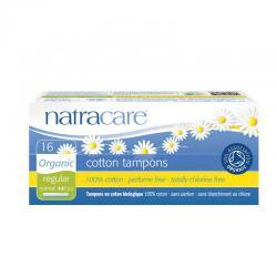 Tampon regular con aplicador bio 16 unidades Natracare - Imagen 1