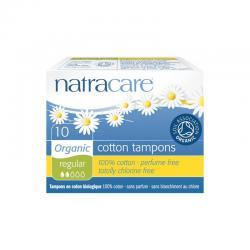 Tampón regular sin aplicador bio 10 und. Natracare - Imagen 1
