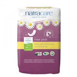 Compresa regular (maxi pads) 14 unidades Natracare - Imagen 1