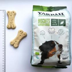 Galletas veganas para perros bio 500g Yarrah - Imagen 1