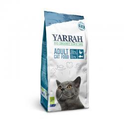 Pienso para gatos con pescado y proteína bio 2.4kg Yarrah - Imagen 1