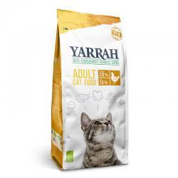 Pienso para gatos con pollo y proteína bio 800g Yarrah - Imagen 1