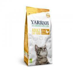 Pienso para gatos con pollo y proteína bio 2.4kg Yarrah - Imagen 1