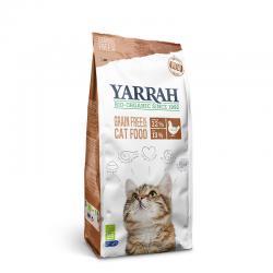 Pienso para gatos de pollo sin cereales bio 2.4kg Yarrah - Imagen 1