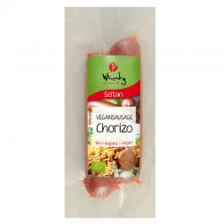 Salchichas de seitan chorizo bio 130 g Wheaty - Imagen 1