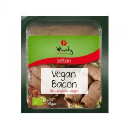 Lonchas de bacon bio 60 g Wheaty - Imagen 1