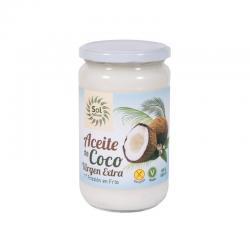 Aceite de coco virgen extra bio 580 ml Sol natural - Imagen 1