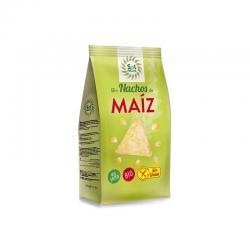 Nachos de maiz no fritos bio 80g Sol Natural - Imagen 1