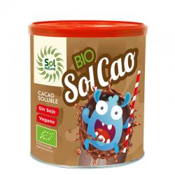 Solcao cacao soluble bio 400g Sol Natural - Imagen 1