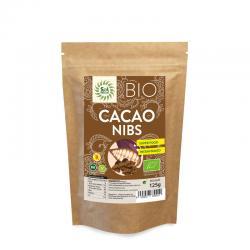 Cacao nibs crudo (raw) bio 125g Sol Natural - Imagen 1