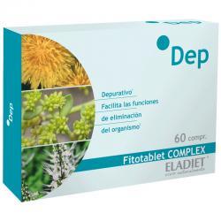 DEP fitotablet complex 60 comprimidos Eladiet - Imagen 1