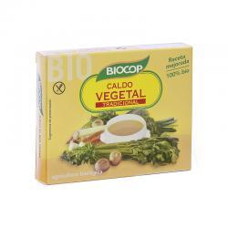 Caldo de verduras en cubitos bio 6 x 11 g Biocop - Imagen 1