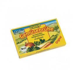 Caldo de verduras bio 8 cubitos Rapunzel - Imagen 1