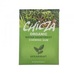 Chicles de sabor hierbabuena bio 30g Chicza - Imagen 1