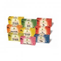 Tila filtro (20 bolsitas) expositor 16 unidades La constancia - Imagen 1