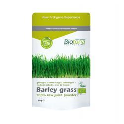 Barley grass (hierba de cebada) raw superfood bio 200 g Biotona - Imagen 1