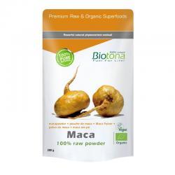 Maca en polvo raw superfood bio 200g Biotona - Imagen 1
