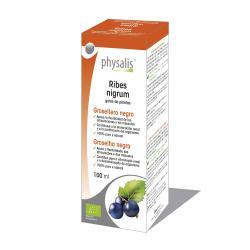 Grosellera negro (ribes nigrum) extracto hidroalcoholico bio 100ml Physalis - Imagen 1