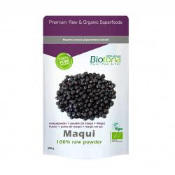 Maqui raw powder superfood bio 200g Biotona - Imagen 1