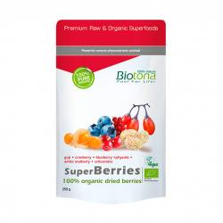 Superberries (frutas del bosque) superfoods bio 250g Biotona - Imagen 1