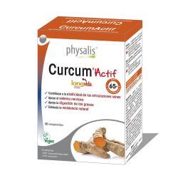 Curcum actif 30 comprimidos Physalis - Imagen 1