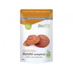 Reishi completo raw powder superfoods bio 150g Biotona - Imagen 1