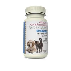 Hígado de buey healthy hair 750g 100 comprimidos Healthy Pets - Imagen 1