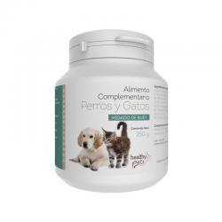 Hígado de buey healthy hair polvo 250g Healthy Pets - Imagen 1