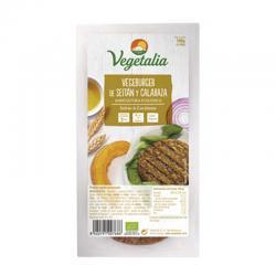 Vegeburguer de seitán y calabaza bio 160 g Vegetalia - Imagen 1