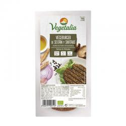 Vegeburguer de seitán y shiitake bio 160 g Vegetalia - Imagen 1