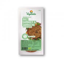 Vegeburguer de garbanzo y kale bio 160g Vegetalia - Imagen 1