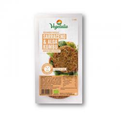 Vegeburguer de trigo sarraceno y kombu bio 160g Vegetalia - Imagen 1