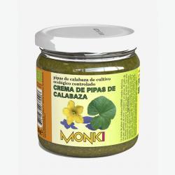 Crema de pipas de calabaza bio 330g Monki - Imagen 1
