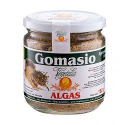 Gomasio con algas en bote de vidrio bio 160 g Vegetalia - Imagen 1
