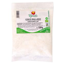 Coco rallado bio 100 g Vegetalia - Imagen 1
