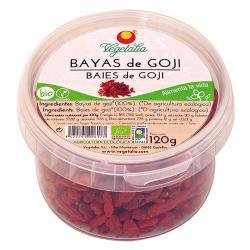 Bayas de goji en tarrina bio 120 g Vegetalia - Imagen 1