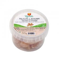 Delicias de jengibre convencional 150g Vegetalia - Imagen 1