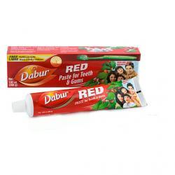 Dentifrico ayurvédico rojo con minerales 100 g Dabur - Imagen 1