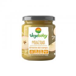 Potito de manzana Bio 190 g Vegebaby - Imagen 1