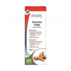 Curcuma (curcuma longa) extracto hidroalcoholico bio 100ml Physalis - Imagen 1
