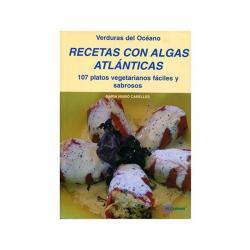 Libro recetas con algas atlanticas.Algarmar - Imagen 1