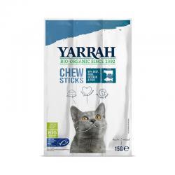 Stick masticables para gatos con pescado y espirulina Bio 15g Yarrah - Imagen 1