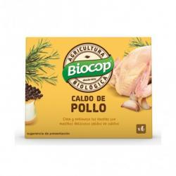 Caldo de pollo en cubitos bio 6x11g Biocop - Imagen 1