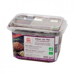 Genmai Miso (arroz) no pasteurizado Bio 400g Celnat - Imagen 1